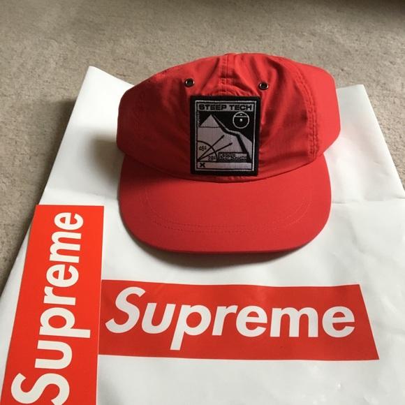 e020398a Supreme Accessories | Tnf Steep Tech Ss16 5panel Hat | Poshmark